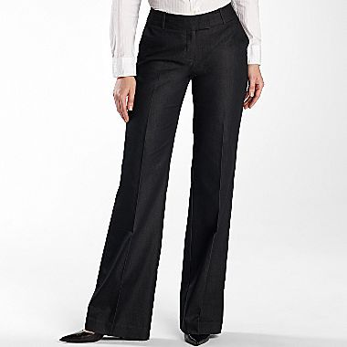 JCPenney Worthington® Modern-Fit Tab Waist Pants - Tall