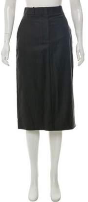 Calvin Klein Plaid Midi Skirt w/ Tags Grey Plaid Midi Skirt w/ Tags