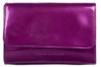 Marc Jacobs Vinyl Flap Clutch