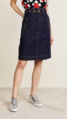 Marc Jacobs (マーク ジェイコブス) - Marc Jacobs Denim Skirt with Zip Pockets