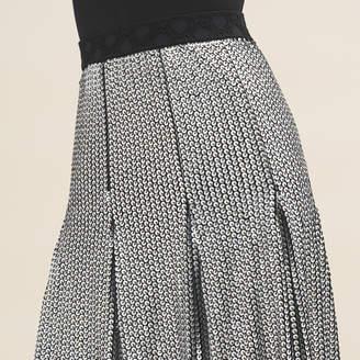 Maje Midi sequinned skirt