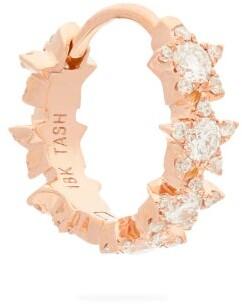 Maria Tash Constellation Eternity Diamond Single Earring - Womens - Rose Gold