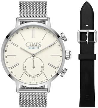 Chaps Dunham Mesh Bracelet Hybrid Smart Watch, 44mm