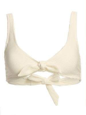 Heidi Klein Cote D-Azur Knot-Front Bikini Top