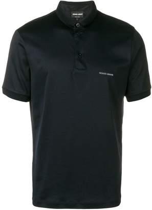 Giorgio Armani chest logo polo shirt