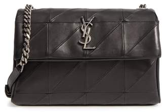 Saint Laurent West Hollywood Patchwork Leather Shoulder Bag