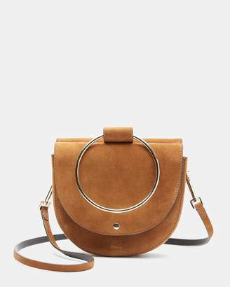 Theory Whitney Bag in Suede
