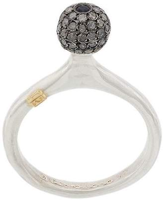 Rosa Maria studded ball ring