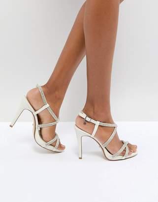 Dune London Dune Bridal Bridal Mansionn Diamonte Heeled Sandal