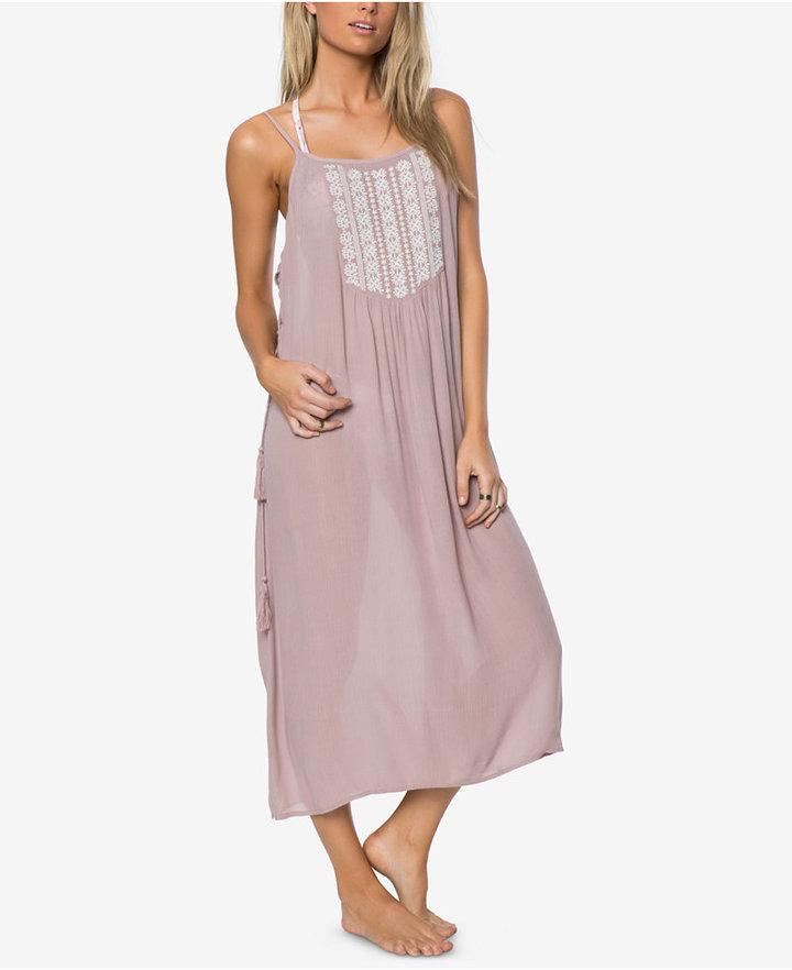 O'NeillO'Neill LuLu Embroidered Maxi Cover-Up Dress