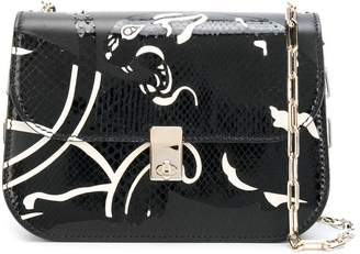 Valentino All Over Chain panther shoulder bag
