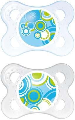 Mam Trends Silicone Orthodontic Pacifier, Boy