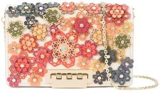 Zac Posen Earthette floral appliqué crossbody bag