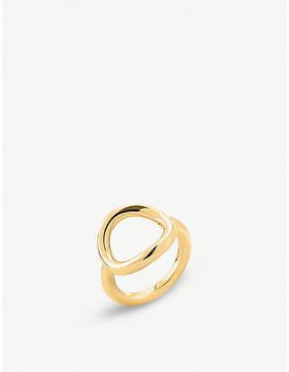 Folli Follie Metal Chic gold-plated circle ring