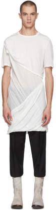 Rick Owens White Smiley T-Shirt