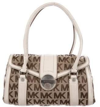 MICHAEL Michael Kors Monogram Canvas Shoulder Bag