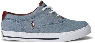 Ralph Lauren Vaughn II Canvas Trainer
