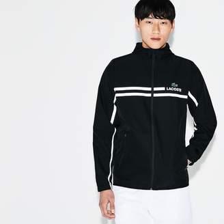 dcc76a6479 Lacoste Men's SPORT Mesh Tennis Jacket