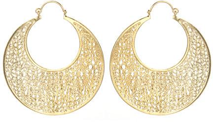 Jules Smith Hoop Dreams Gold Earrings