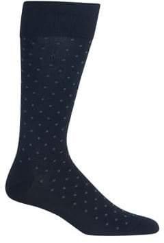 Polo Ralph Lauren Mercerized All Over Dot Socks