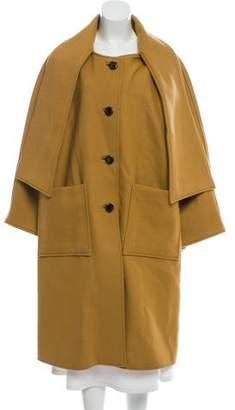 Tory Burch Wool Chelsea Coat w/ Tags