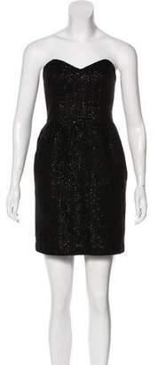 Milly Strapless Tweed Dress