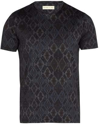 Etro Geometric-print cotton T-shirt