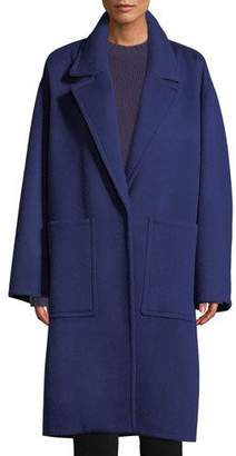 Vince Patch Pocket Wool Car Coat