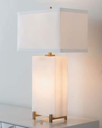 John-Richard Collection John Richard Collection Alabaster Block Table Lamp