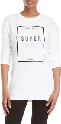 Superdry Square Logo Oversized Sweatshirt