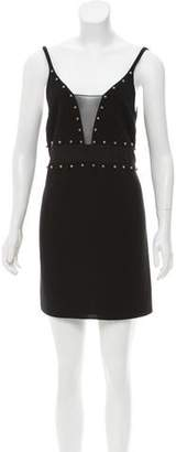 Cinq à Sept Embellished Sleeveless Dress