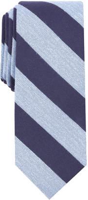 Bar III Men's Minerva Stripe Skinny Tie, Created for Macy's