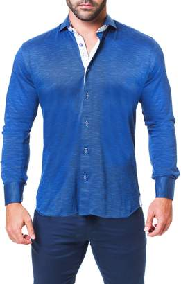 Maceoo Einstein Regular Fit Knit Sport Shirt