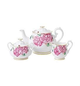 Royal Albert Miranda Kerr Friendship Teapot, Sugar Bowl & Cream Jug