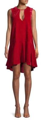 Free People Velvet Hi-Lo Dress