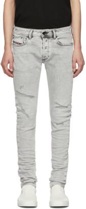Diesel Grey Sleenker-X Jeans