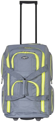 Olympia Usa Olympia 22-Inch 8-Pocket Wheeled Duffel Bag