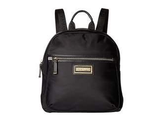 8b6d63d382 Calvin Klein Gold Nylon Women s Backpacks - ShopStyle