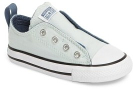 Infant Boy's Converse Chuck Taylor All Star Simple Slip-On Sneaker $29.95 thestylecure.com