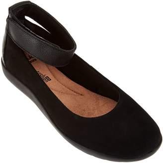 Clarks Collection Nubuck Leather Slip-on Shoes - Medora Nina