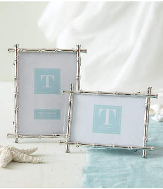Twos Company Set of 2 Bamboo Photo Frames Includes 2 Sizes