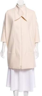 Versace Wool & Silk Coat