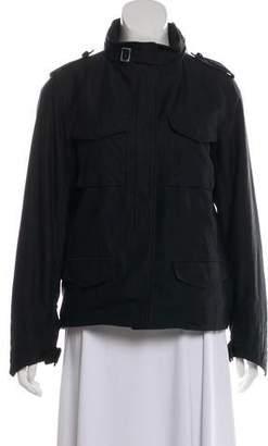 Saint Laurent Zip-Up Cargo Jacket