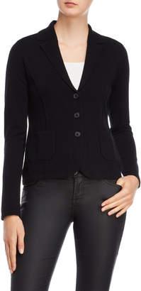 Forte Cashmere Black Cashmere Blazer