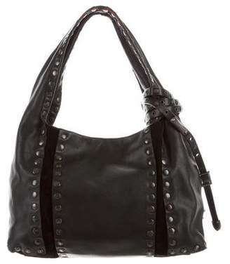 Jimmy Choo Studded Saba Bag