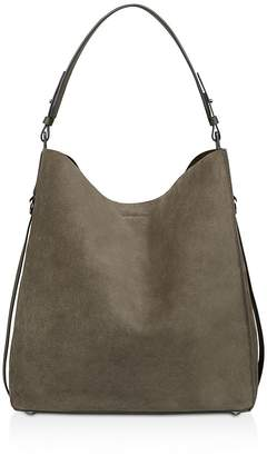 AllSaints Paradise Suede North/South Tote