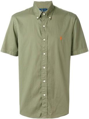 Ralph Lauren logo patch shortsleeved shirt