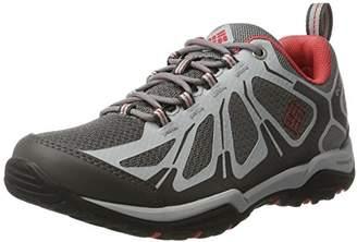 Columbia Women's Peakfreak XCRSN Ii Xcel Low Outdry Multisport Outdoor Shoes, Grey (Ti Grey Steel/Sunset Red), 36 EU