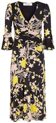 Diane von Furstenberg Silas Floral Dress