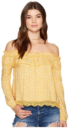 Roxy - Off The Shoulder Cold Shoulder Top Women's Swimwear $39.50 thestylecure.com